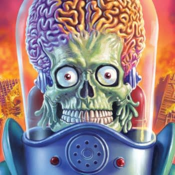 Dynamite and Topps Partner for New 'Mars Attacks' Comics