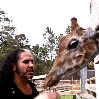 Ahead of Ultimate Deletion Matt Hardy Seeks Advice from Giraffe to Defeat Bray Wyatt