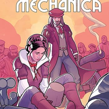 Monstro Mechanica #4 Review: A Mediocre Entry in the Historical Fiction/Sci-Fi Series