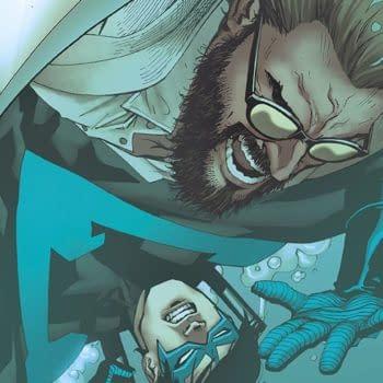 Nightwing #40 cover by Bernard Chang