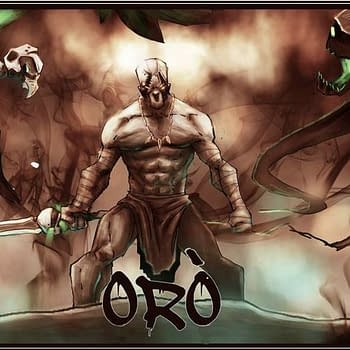 Indie Comics Spotlight: Oro #1-3 African Myth-Inspired Gritty Action