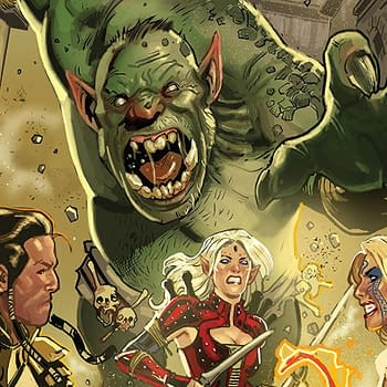Pathfinder Spiral of Bones #1 Review: High Fantasy Fun for People Who Like RPGs