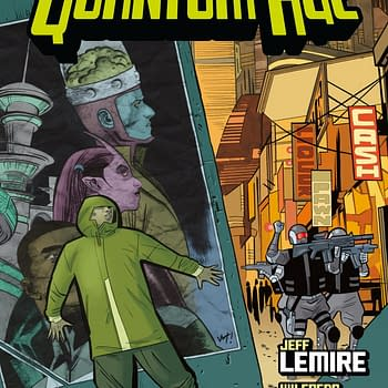 Jeff Lemire and Wilfredo Torres Expand Black Hammer in July with The Quantum Age