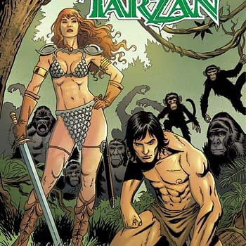 Exclusive Look Inside Red Sonja / Tarzan #1