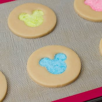 Nerd Food at Home: Hidden Mickey Stained Glass Cookies