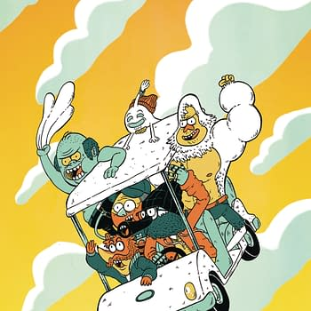 Check in on Regular Show 25 Years Later: BOOM Studios June 2018 Solicits
