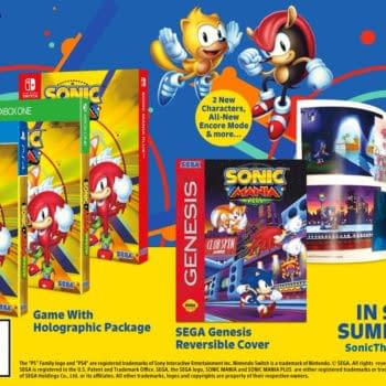 Sonic Mania Plus Announced at SXSW with Physical Edition and New Characters