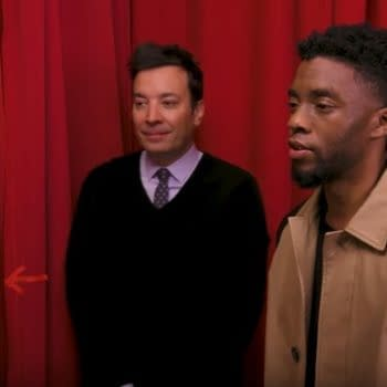 Watch: Chadwick Boseman Surprises 'Black Panther' Fans On Jimmy Fallon