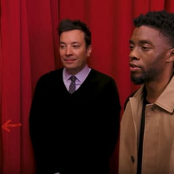 Watch: Chadwick Boseman Surprises Black Panther Fans On Jimmy Fallon