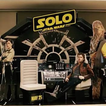 Star Wars Releases First Look at Solo Lobby Display