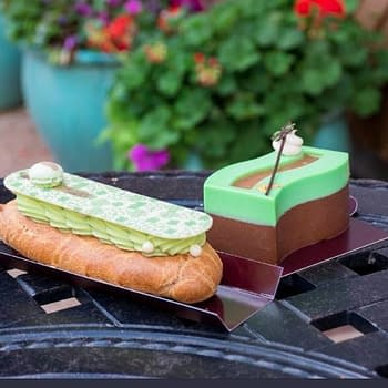 New St. Patricks Day Pastries Available Now at Amorettes Patisserie in Disney Springs