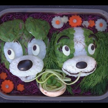 Nerd Food: This Lady and the Tramp Bento Box is Too Cute