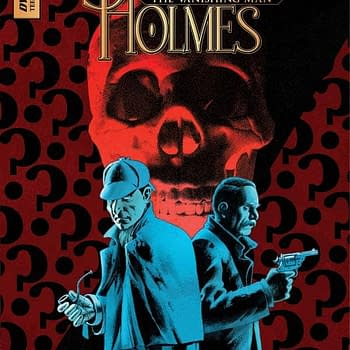 Exclusive First Look Inside Sherlock Holmes: The Vanishing Man #1