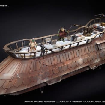 Hasbro Reveals Detailed Images of Jabba's Sail Barge with a Few Days to Go