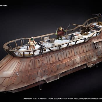 Hasbro Reveals Detailed Images of Jabbas Sail Barge with a Few Days to Go