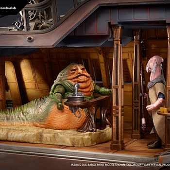 Haslabs Star Wars Vintage Collection Jabbas Sail Barge Reaches Funding Goal