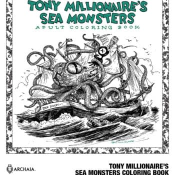 BOOM! Wants You to Color Tony Millionaire's Sea Monsters (And No, That's Not a Euphemism)