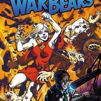 Margaret Atwood and Ken Steacy Launch New Comic War Bears at Dark Horse