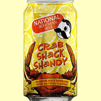 Nerd Food: Natty Bohs Crab Shack Shandy
