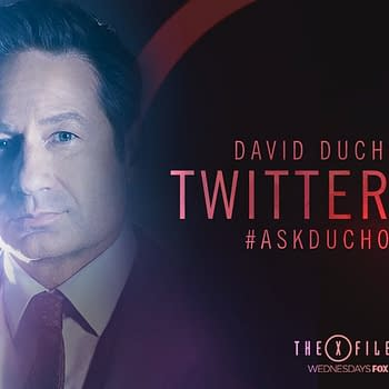 David Duchovny Doing Twitter Q &#038 A Right Now- The X-Files Californication and More-