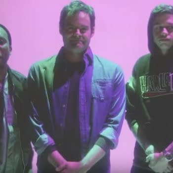 """SNL's Bill Hader Looks a Little Uncomfortable with His """"Tribute Rap"""" in New Promo"""