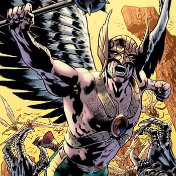 Bryan Hitch and Robert Venditti Confirmed on New Hawkman Monthly Comic