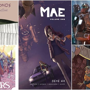 Cellies and Mae Vol. 2 Launch in Lion Forge June 2018 Solicits
