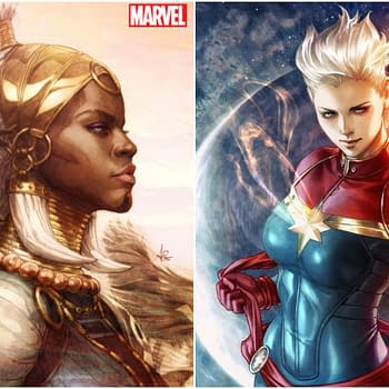 How Many Copies Will Stanley Artgerm Lau Add to Captain Marvel and Black Panthers Relaunch