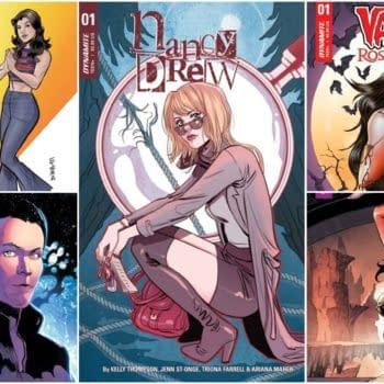 Charlie's Angels, Nancy Drew, and Vampirella Lead Dynamite's June 2018 Solicitations