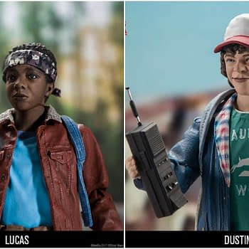 Stranger Things Faves Dustin and Lucas on Their Way from McFarlane