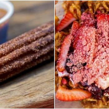 Up-Tart Coco Churro and More Treats from Disneylands Pixar Fest