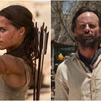 Alicia Vikander and Walton Goggins Talk Tomb Raider and Expectations