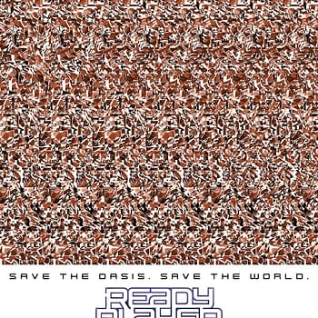 Check Out These Ready Player One Magic Eye Posters from #SXSW