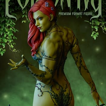 BC Exclusive Reveal: Sideshow Collectibles Poison Ivy Statue First Look For Earth Day