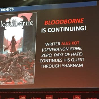 Retailers Reassured That GameStop Wont Steal Their Business as Bloodborne Comic Gets Ongoing