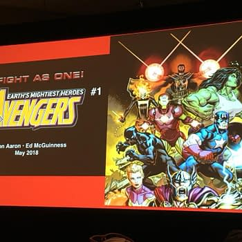 Preview of Ed McGuinnesss Avengers #1 Art from the Diamond Retailer Summit