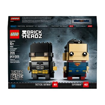 Batman and Superman Get Justice League LEGO Brickheadz