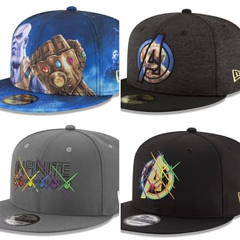 6 Avengers: Infinity War Hats from New Era and Lids in New Collection