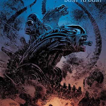 Aliens: Dust to Dust #1 Review – Tense Gorgeous and Juicy