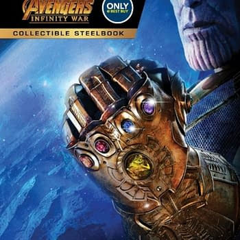 Avengers: Infinity War Blu-Ray Steelbook Already Up For Preorder