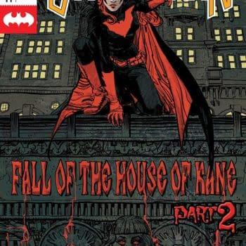 Batwoman #14 cover by Dan Panosian