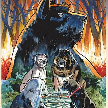 Evan Dorkin and Benjamin Dewey Team Up for Beasts of Burden: Wise Dogs and Eldritch Men