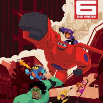 IDW Unveils Plans for Big Hero 6 Comics by Hannah Blumenreich and Nicoletta Baldari