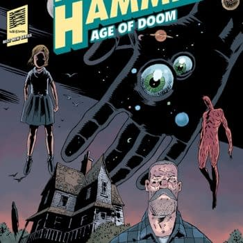 Black Hammer: Age of Doom #1 cover by Dean Ormston