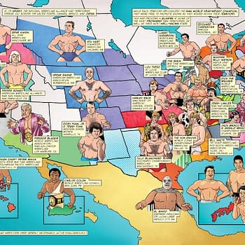 The Evolution of the Territories Explained in Exclusive Pages from The Comic Book Story of Pro Wrestling