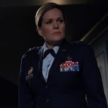Catherine Dent Making Life Hell for Phil Coulson and Oliver Queen