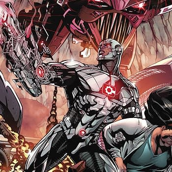Cyborg #21 Review: Wolfman Returns but the Story is Bland