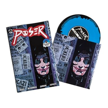 Poser #1 a Fun Slasher Comic from Waxwork Comics