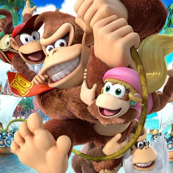 New Donkey Kong Country: Tropical Freeze Trailers Feature Dixie and Diddy Kong