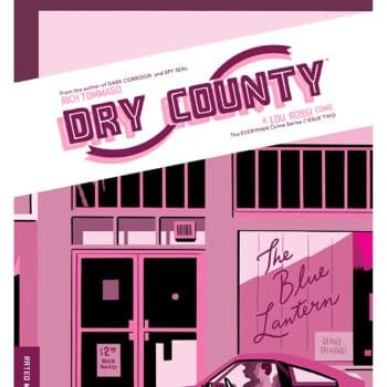 Dry County #2 cover by Rich Tommaso